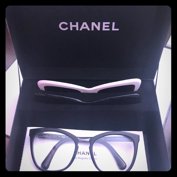 a5bff3431e229 Chanel summer 2018 magnetic clip sunglasses